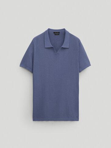 Jersey polo 100% algodón manga corta