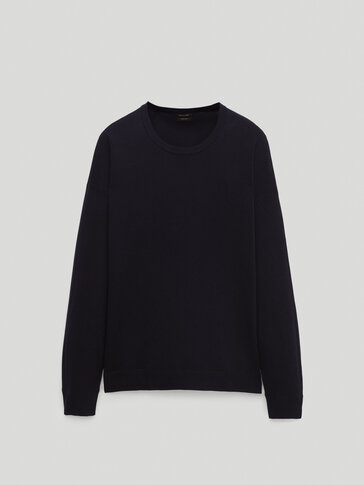 Crew neck sweatshirt sweater