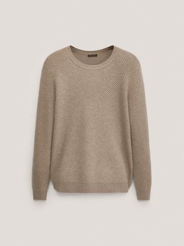 Jersey de punto lana cashmere