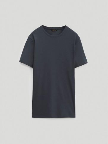 Тениска с къс ръкав от 100% памук