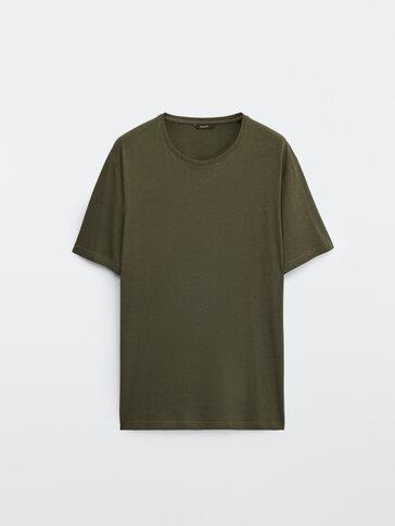 Tricou cu mânecă scurtă din bumbac 100%