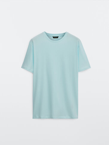 100% katoenen T-shirt met korte mouw