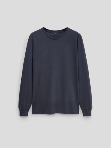 Camiseta manga larga 100% algodón