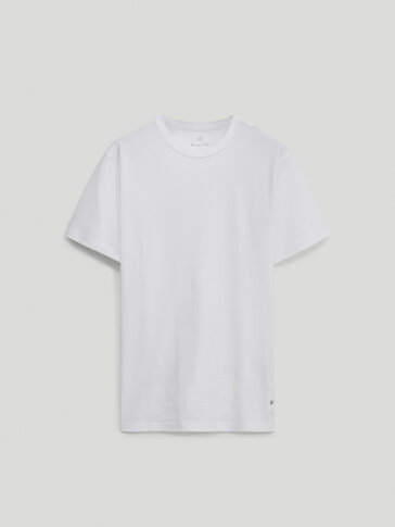 Short sleeve T-shirt with placement detail