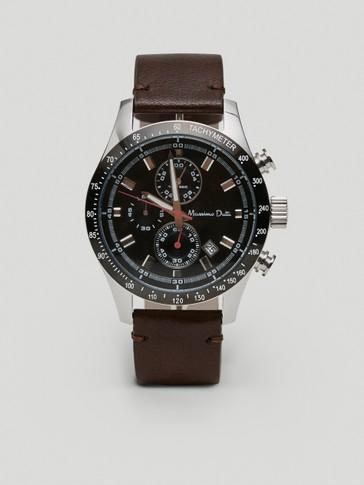 Analogais pulkstenis ar hronometru