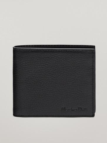 محفظة مونتانا من الجلد