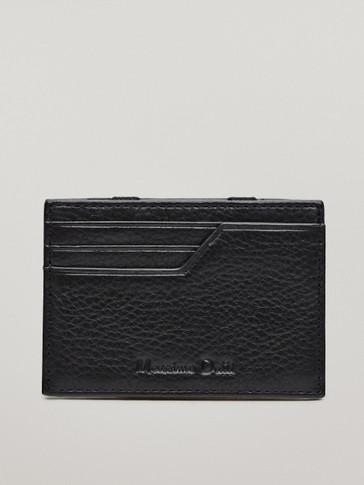 가죽 카드 지갑