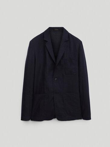 100% linen overshirt - Limited Edition