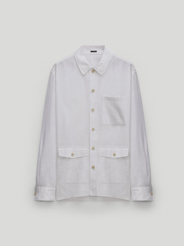 100% linen overshirt - Limited Edition