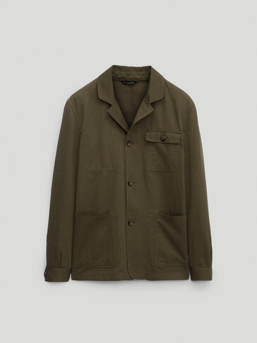 Cotton linen overshirt - Limited Edition
