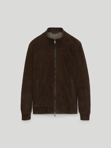 스웨이드 재킷