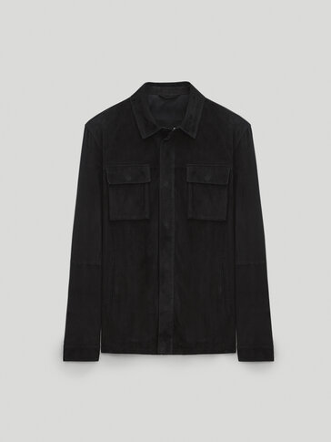 Suede trucker jacket - Limited Edition