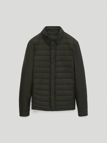 Light down puffer jacket