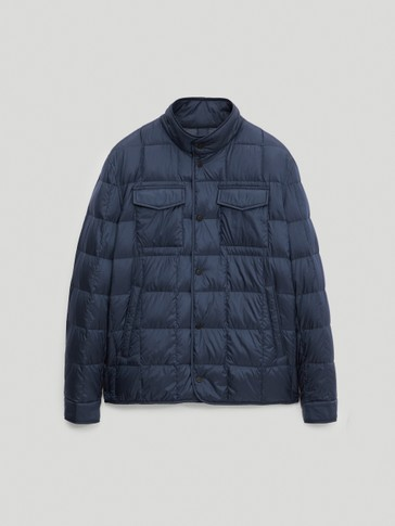 Light down puffer jacket